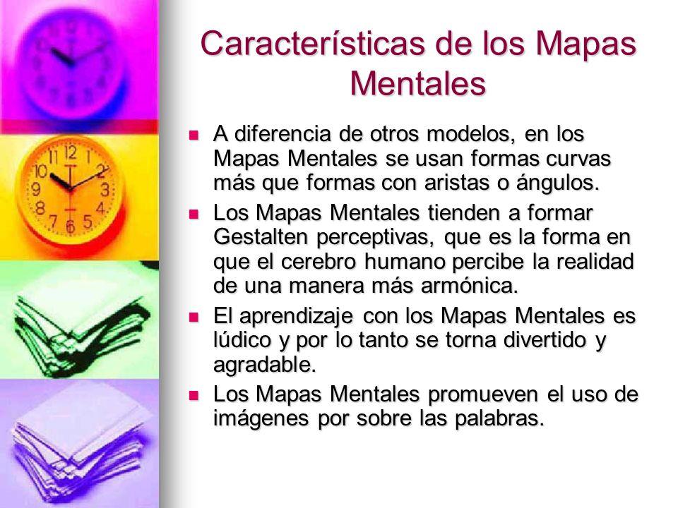 Características de los Mapas Mentales