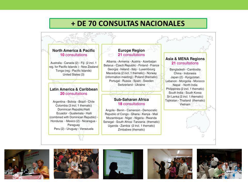 + DE 70 CONSULTAS NACIONALES