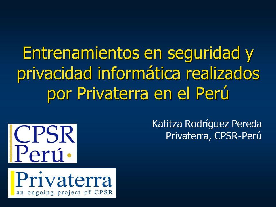 Katitza Rodríguez Pereda Privaterra, CPSR-Perú