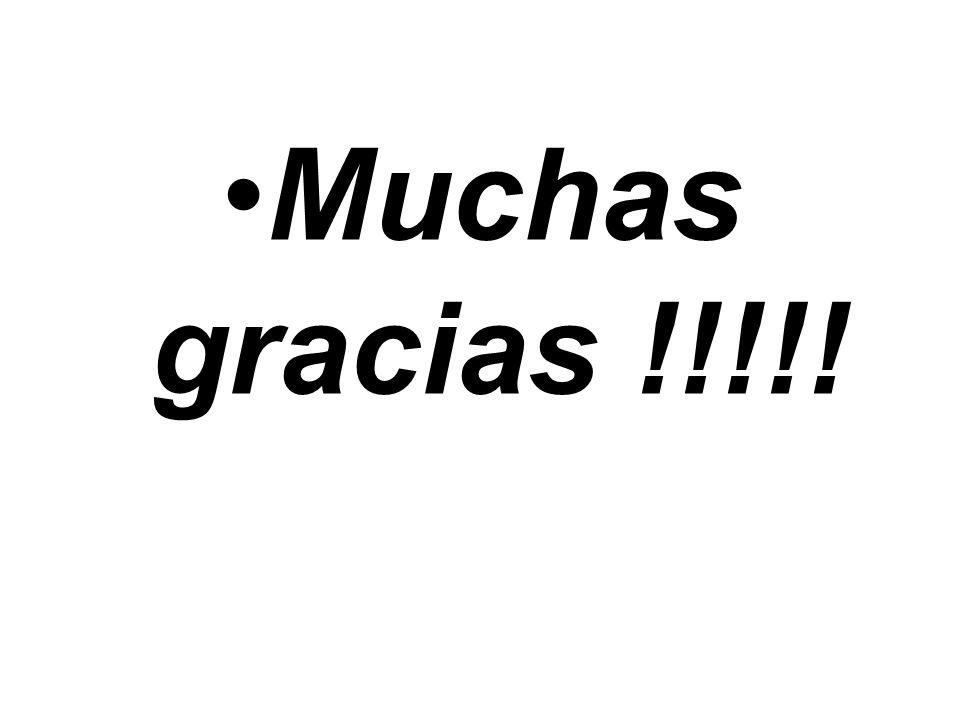 Muchas gracias !!!!!