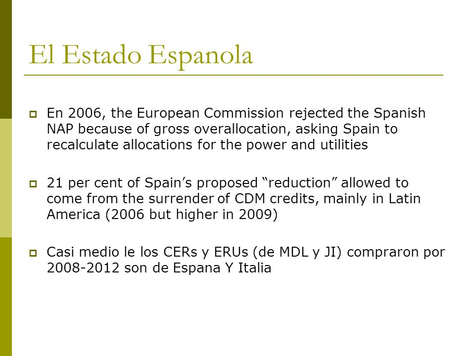 El Estado Espanola