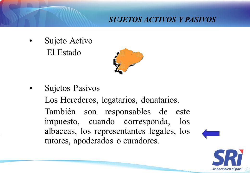 SUJETOS ACTIVOS Y PASIVOS