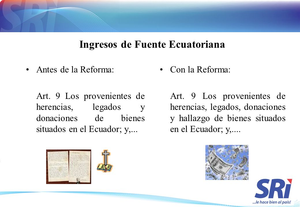 Ingresos de Fuente Ecuatoriana