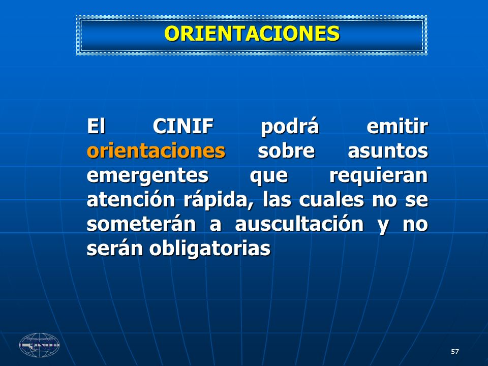 ORIENTACIONES