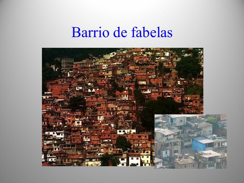 Barrio de fabelas