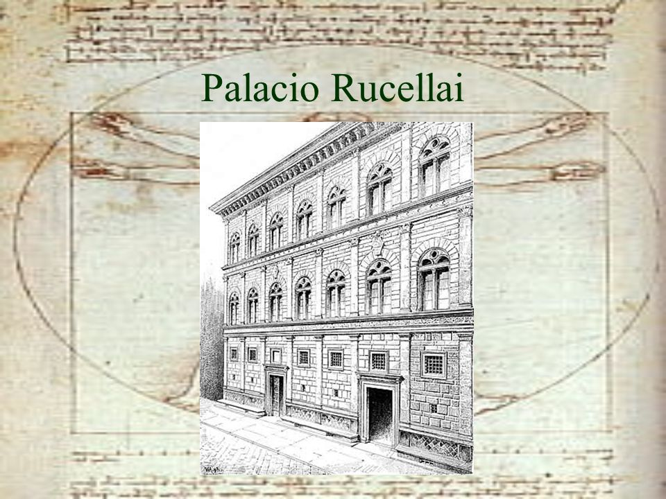 Palacio Rucellai