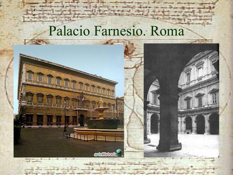 Palacio Farnesio. Roma
