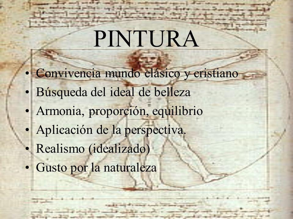 PINTURA Convivencia mundo clásico y cristiano
