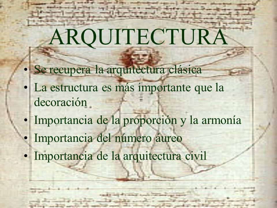 ARQUITECTURA Se recupera la arquitectura clásica