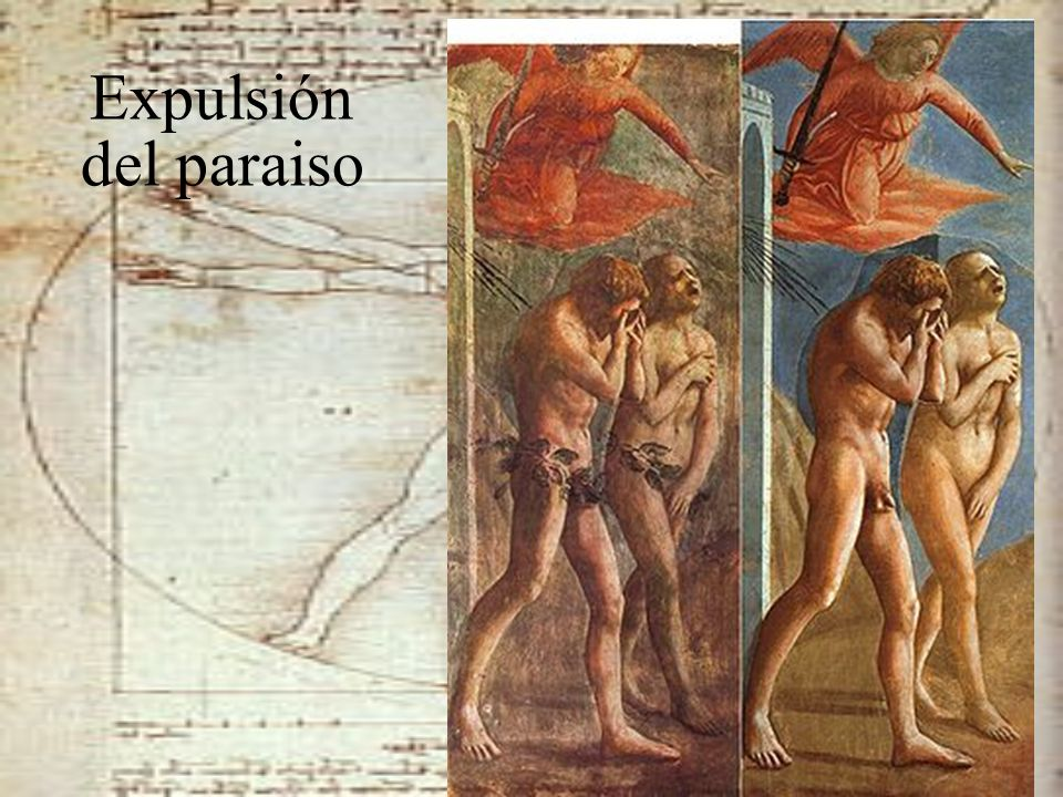 Expulsión del paraiso