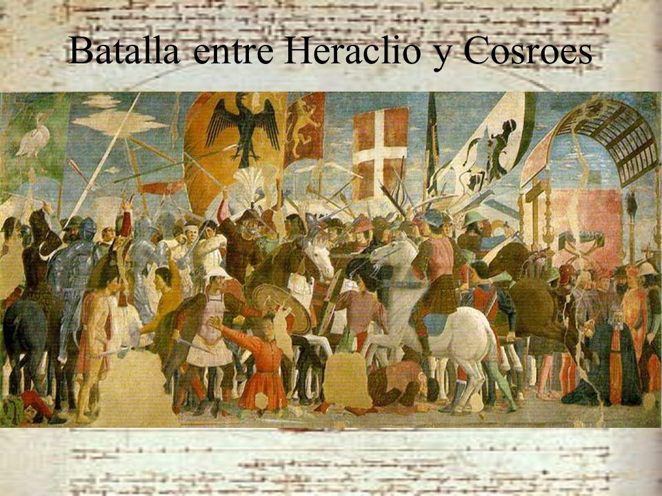 Batalla entre Heraclio y Cosroes
