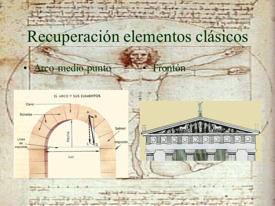 Recuperación elementos clásicos