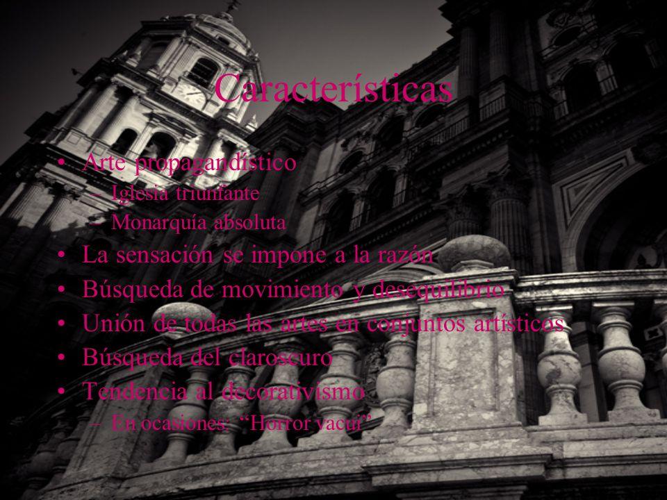 Características Arte propagandístico La sensación se impone a la razón