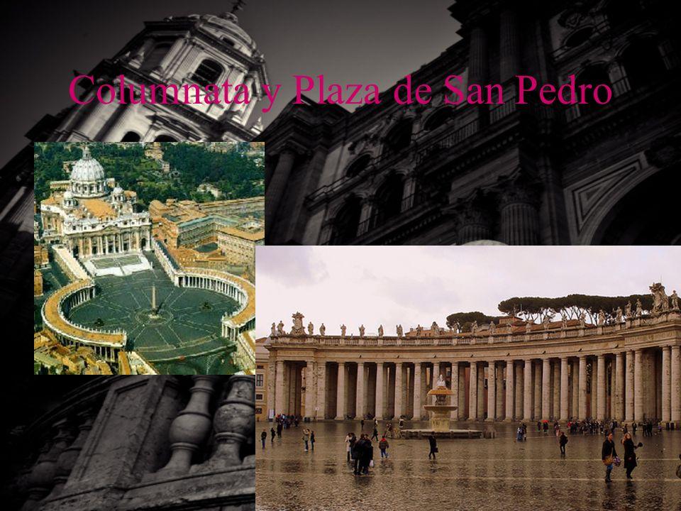 Columnata y Plaza de San Pedro