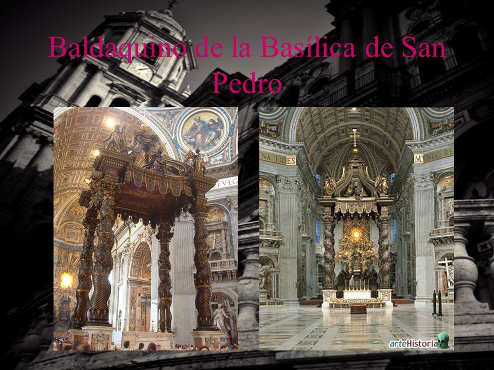 Baldaquino de la Basílica de San Pedro