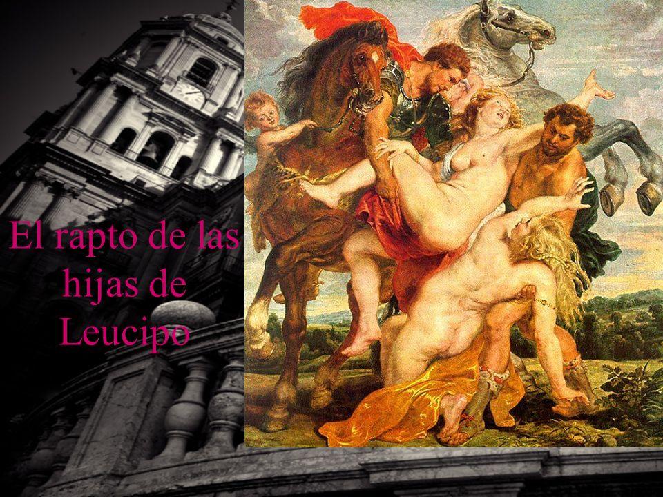 El rapto de las hijas de Leucipo