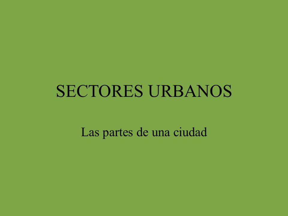 Las partes de una ciudad
