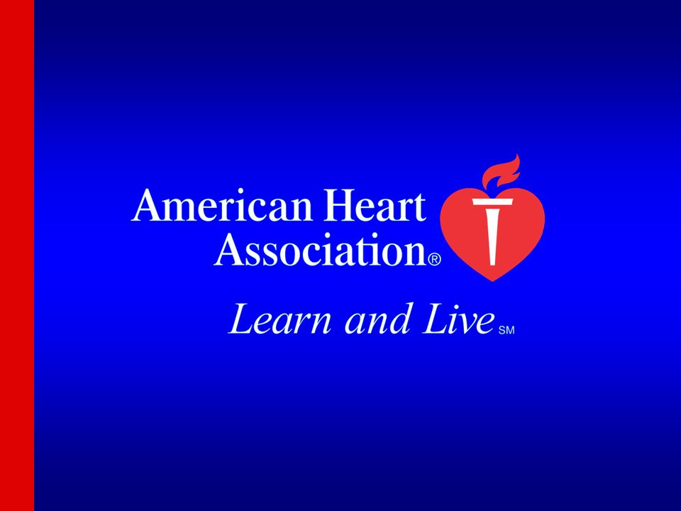 Hello, and welcome. My name is ________, and I'm a volunteer with the American Heart Association.