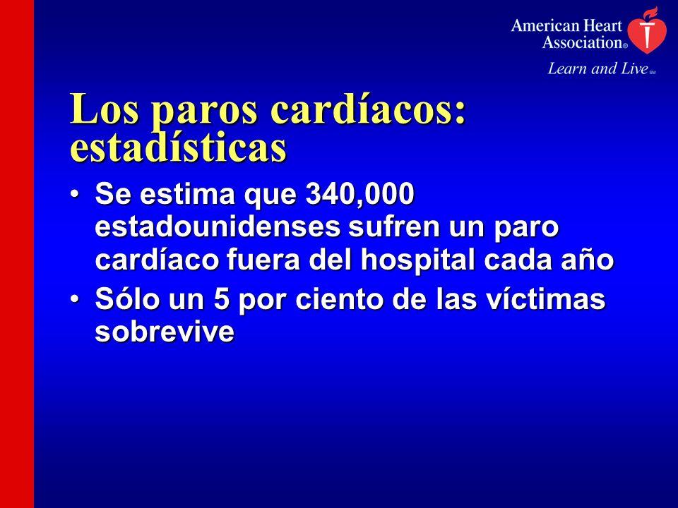 Los paros cardíacos: estadísticas