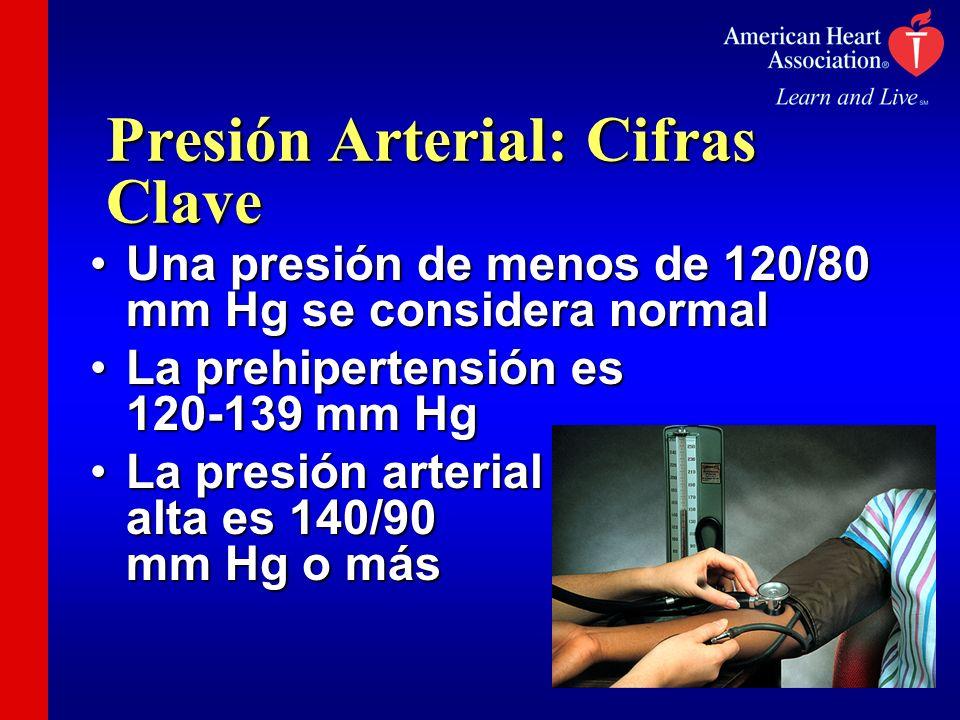 Presión Arterial: Cifras Clave