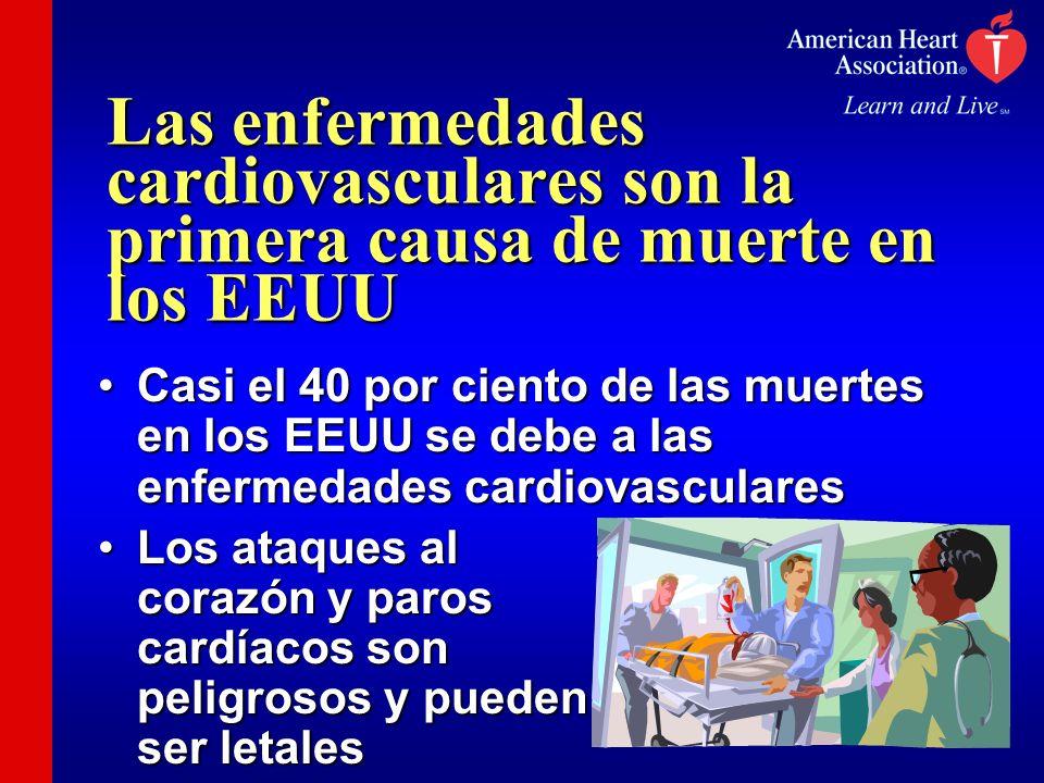 Las enfermedades cardiovasculares son la primera causa de muerte en los EEUU