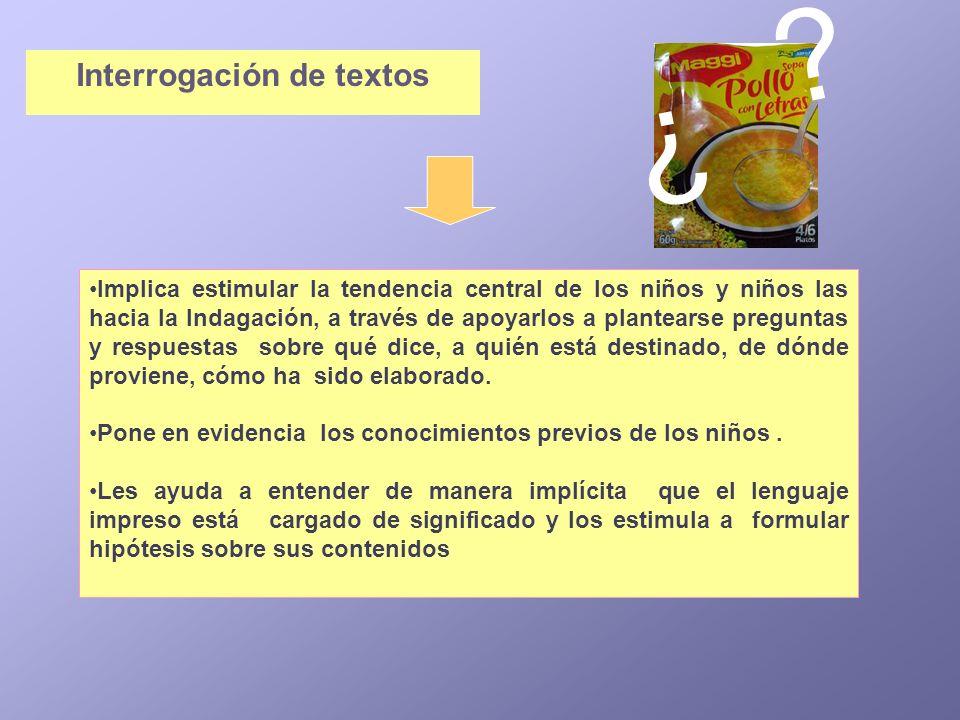 Interrogación de textos