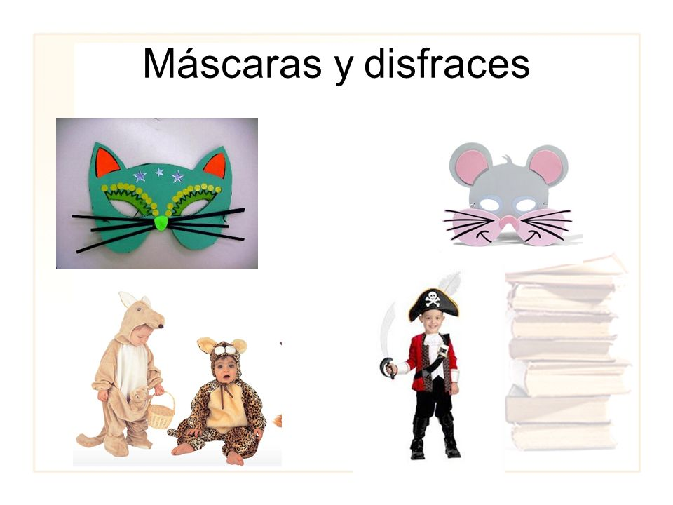 Máscaras y disfraces
