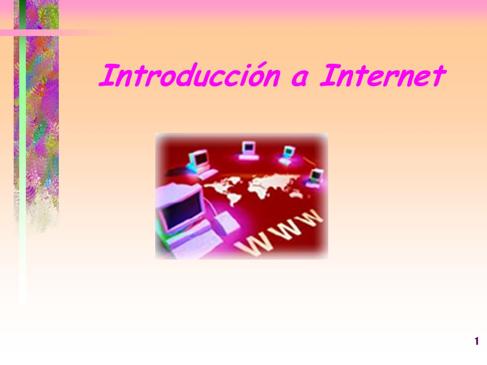 Introducción a Internet