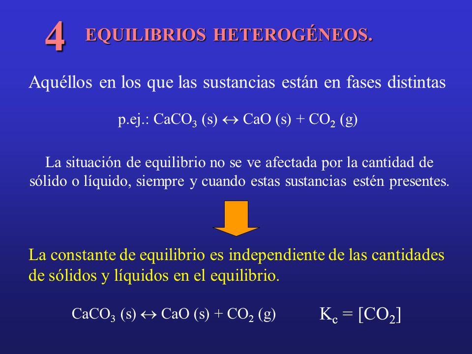 4 EQUILIBRIOS HETEROGÉNEOS.