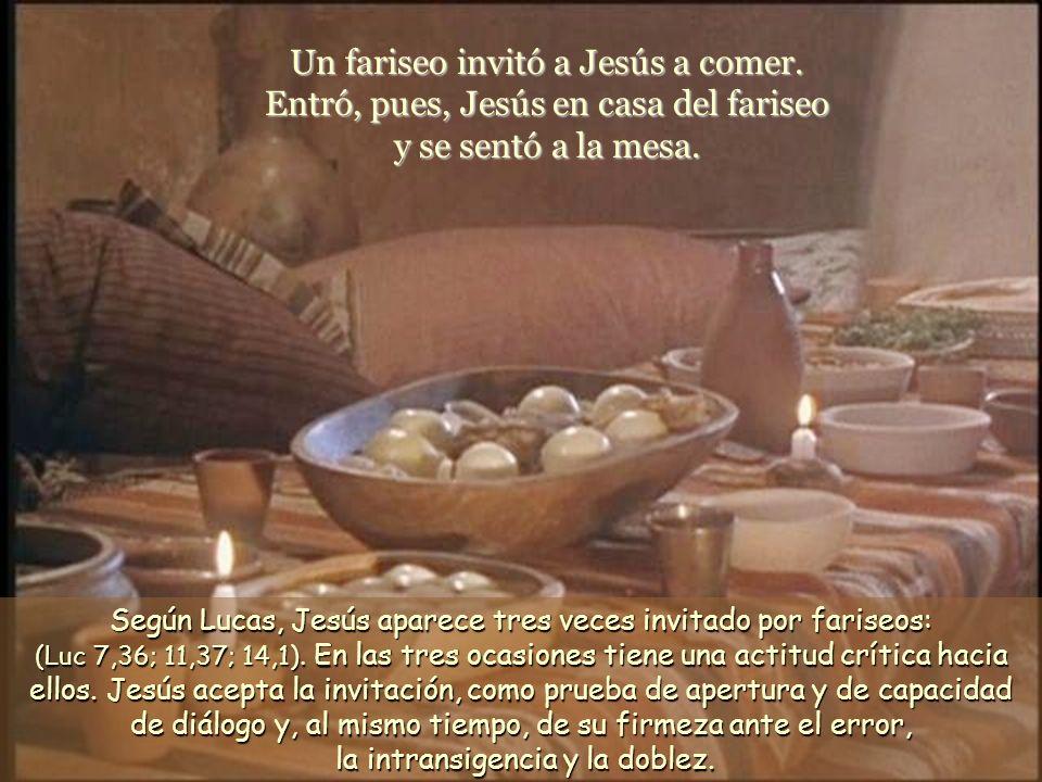 Un fariseo invitó a Jesús a comer