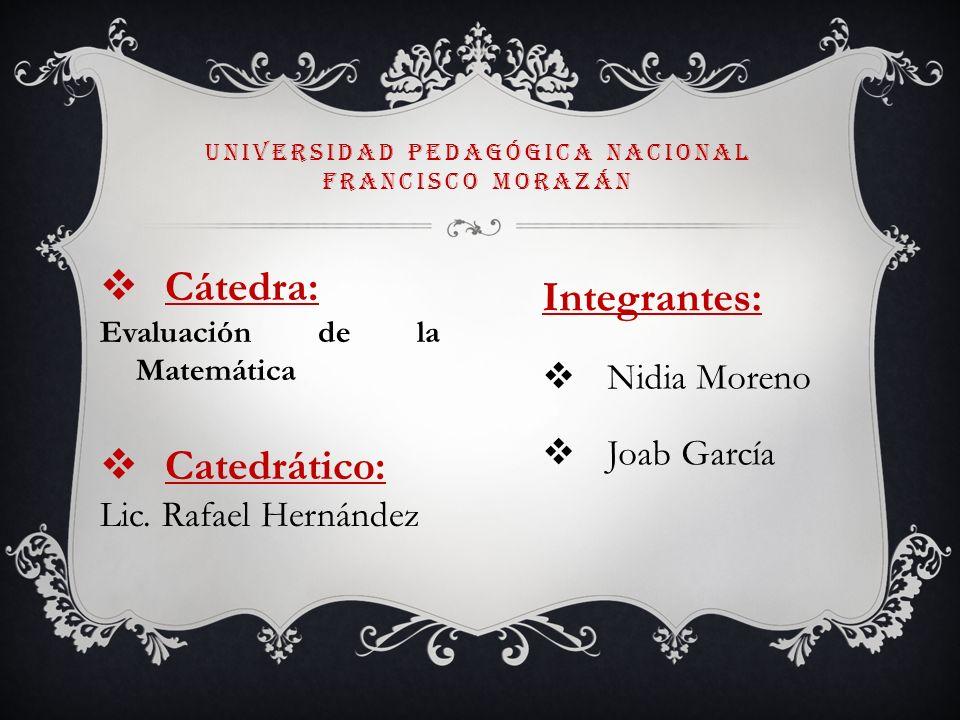 Universidad pedagógica nacional francisco Morazán