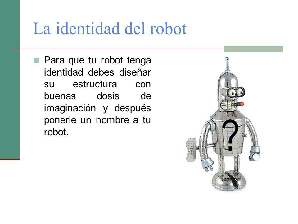 La identidad del robot