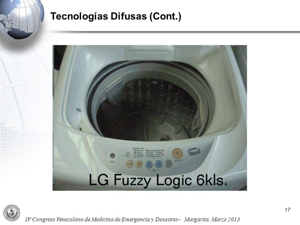 Tecnologías Difusas (Cont.)