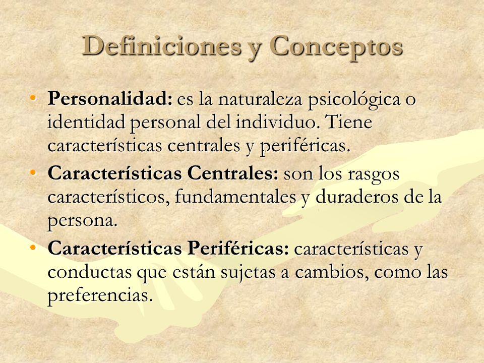 Definiciones y Conceptos