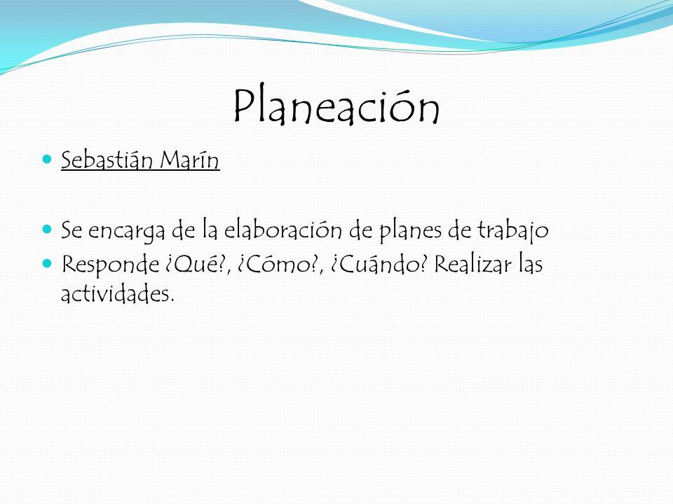 Planeación Sebastián Marín