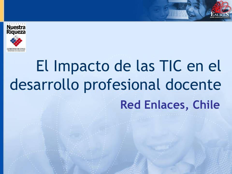 El Impacto de las TIC en el desarrollo profesional docente