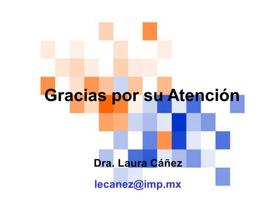 Dra. Laura Cáñez lecanez@imp.mx