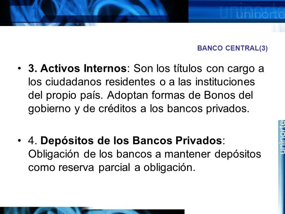 BANCO CENTRAL(3)