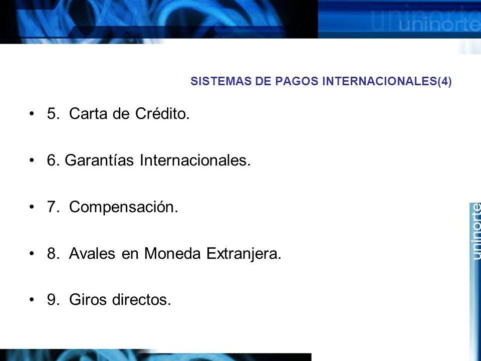 SISTEMAS DE PAGOS INTERNACIONALES(4)