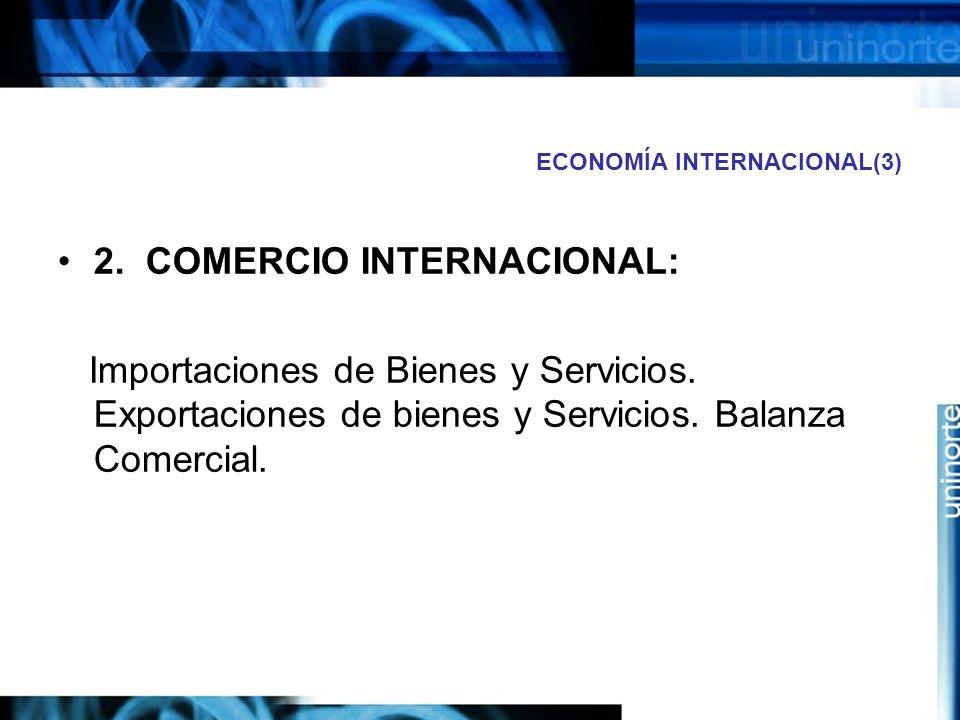 ECONOMÍA INTERNACIONAL(3)