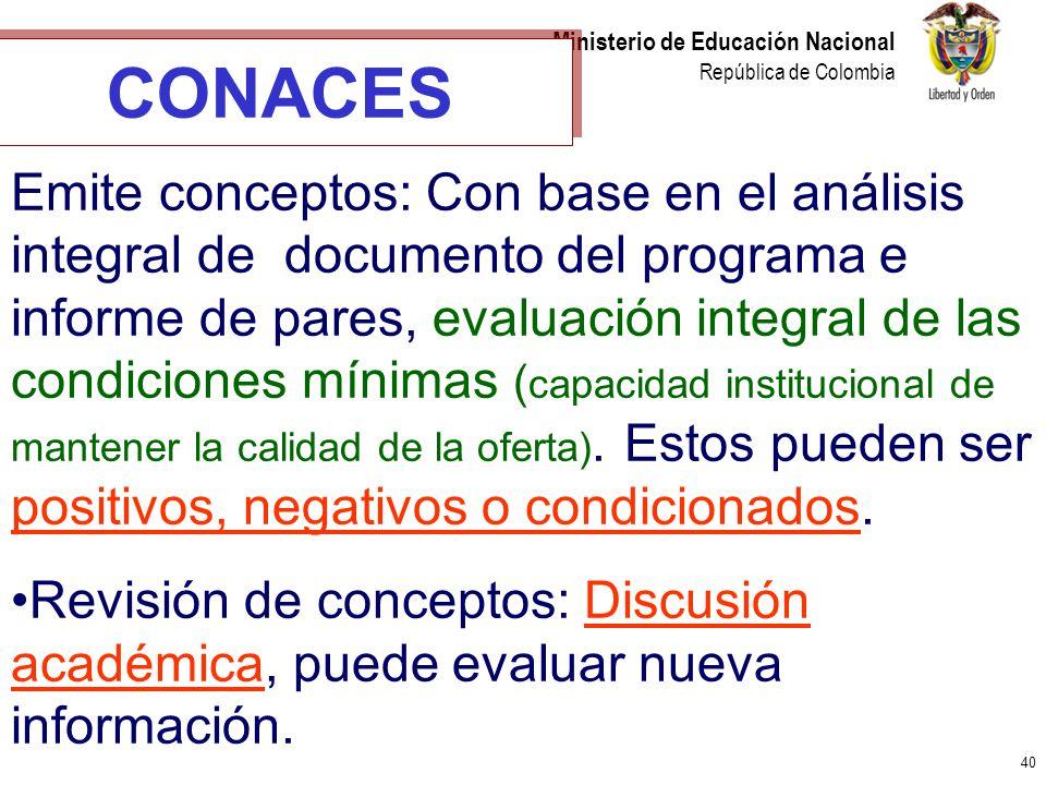 CONACES