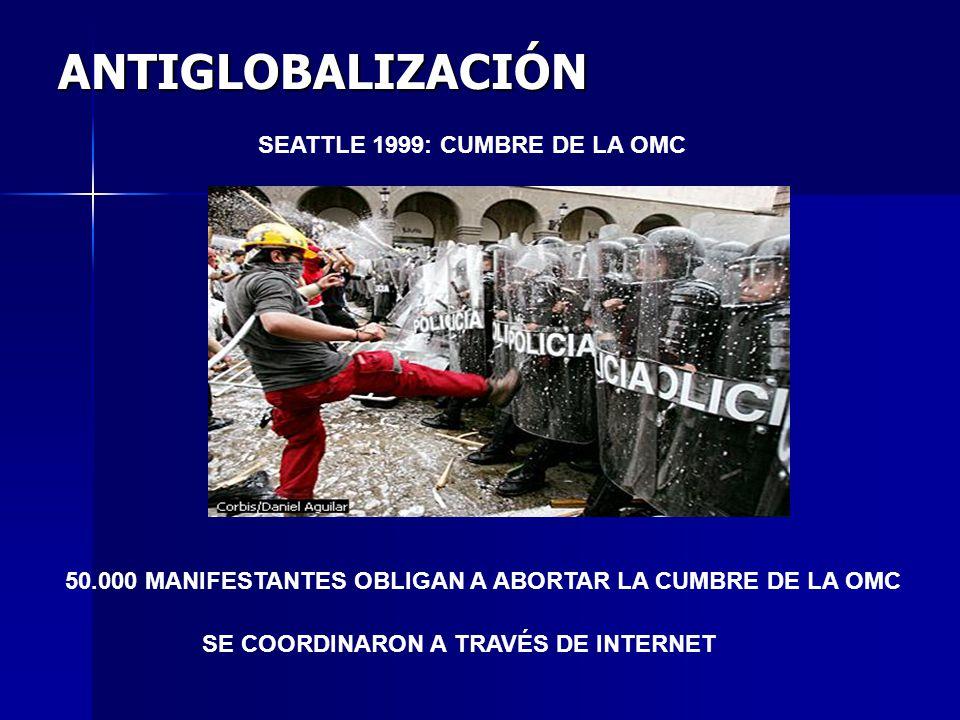 ANTIGLOBALIZACIÓN SEATTLE 1999: CUMBRE DE LA OMC