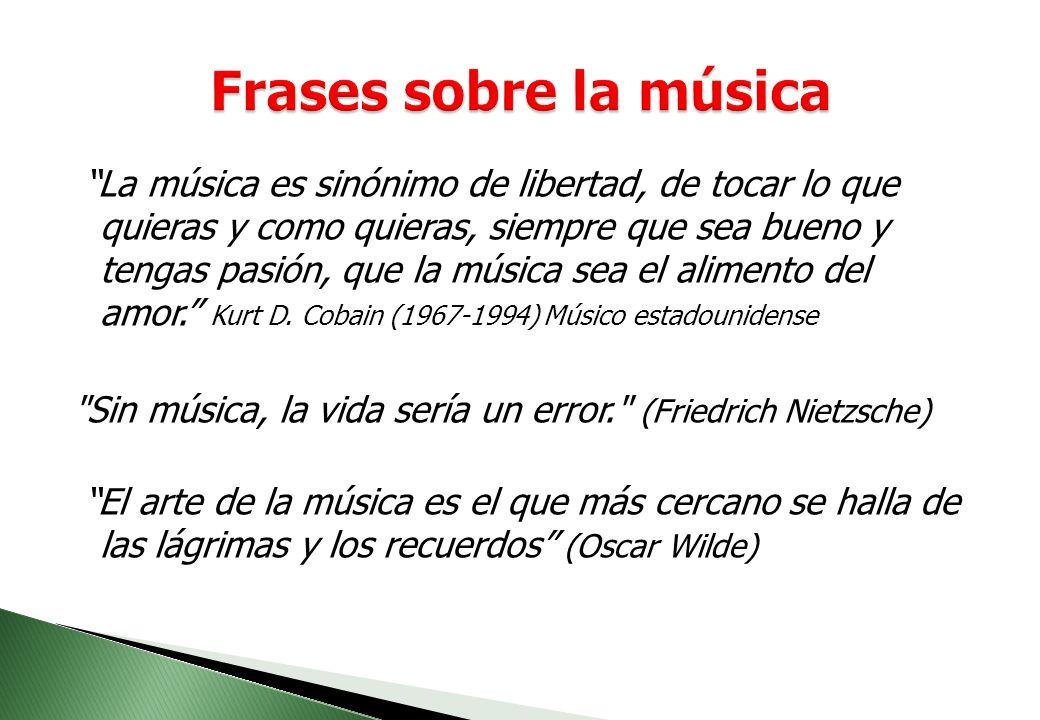 Frases sobre la música
