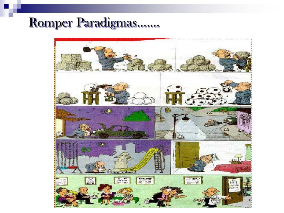 Romper Paradigmas.......