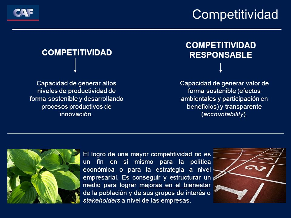 COMPETITIVIDAD RESPONSABLE