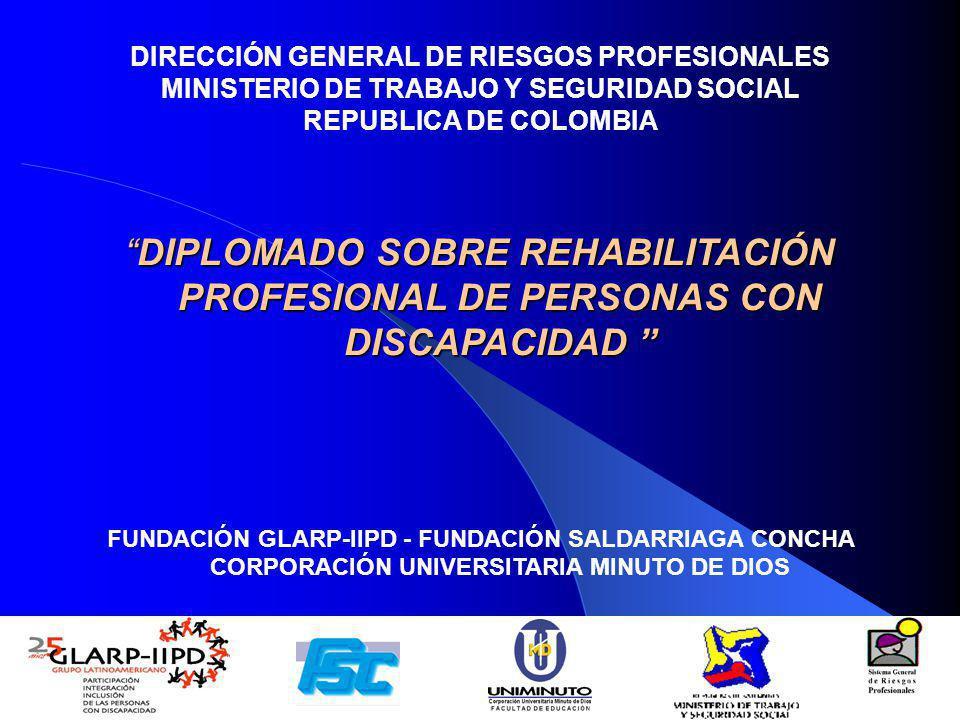 DIRECCIÓN GENERAL DE RIESGOS PROFESIONALES