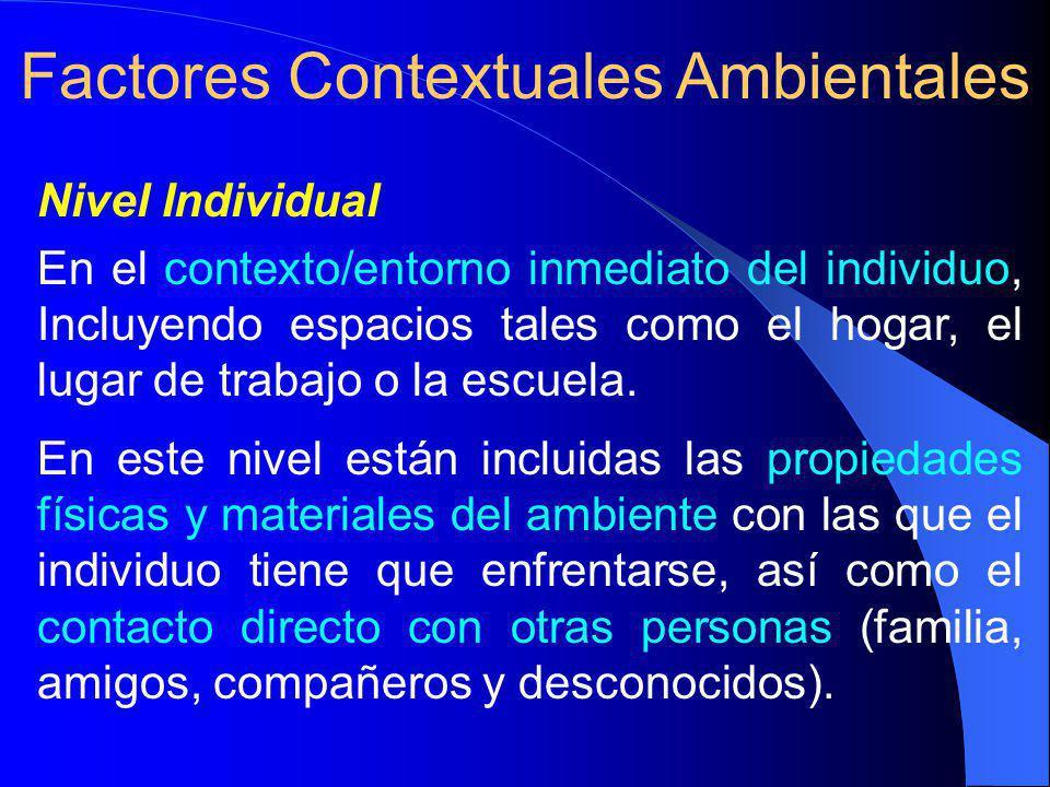 Factores Contextuales Ambientales