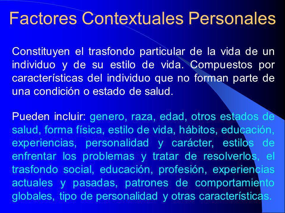 Factores Contextuales Personales