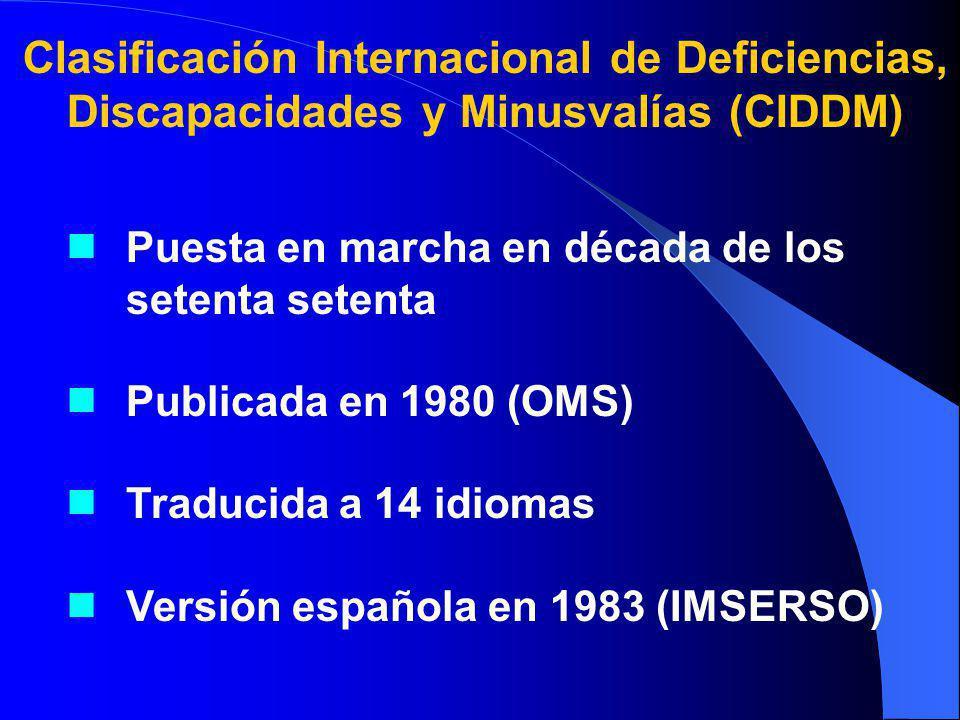 Clasificación Internacional de Deficiencias,