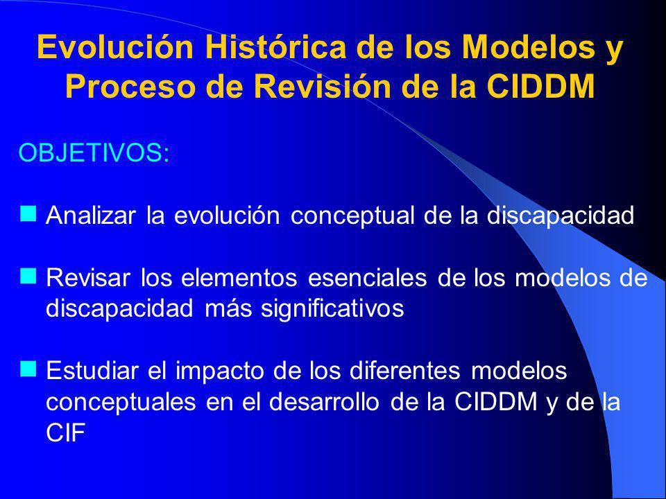 Evolución Histórica de los Modelos y Proceso de Revisión de la CIDDM